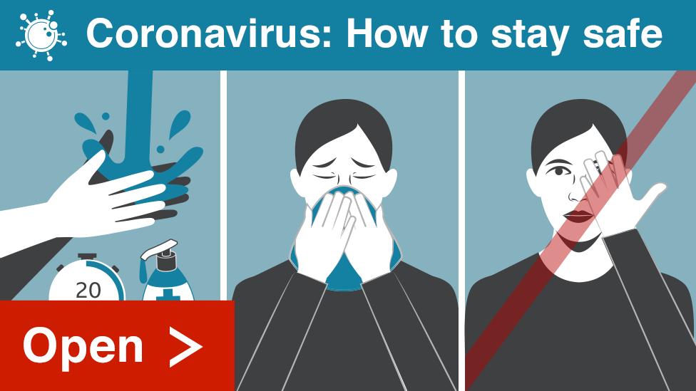 Coronavirus How to stay safe